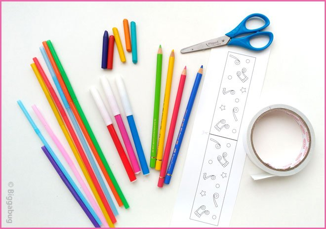 drinking straw panpipes craft supplies