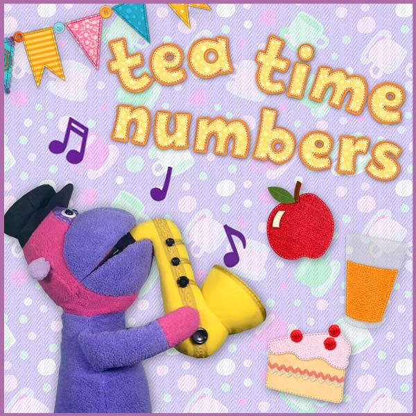 Tea Time Numbers - counting song for kids
