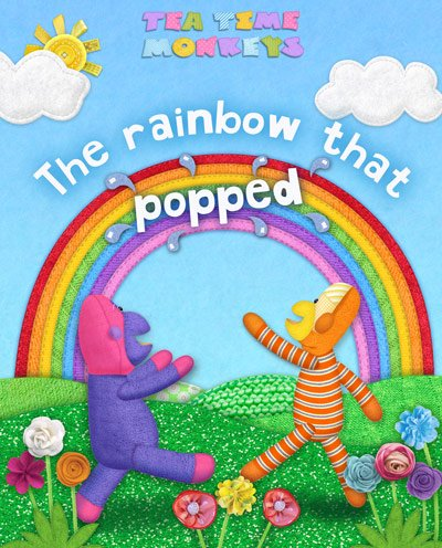 Rainbow Picture Book - Tea Time Monkeys