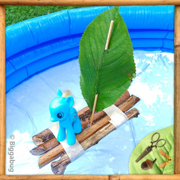 Five minute twig raft featured image