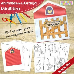 Animales de la Granja Minilibro gratis - Tea Time Monkeys