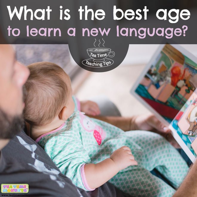 What is the best age to learn a new language?