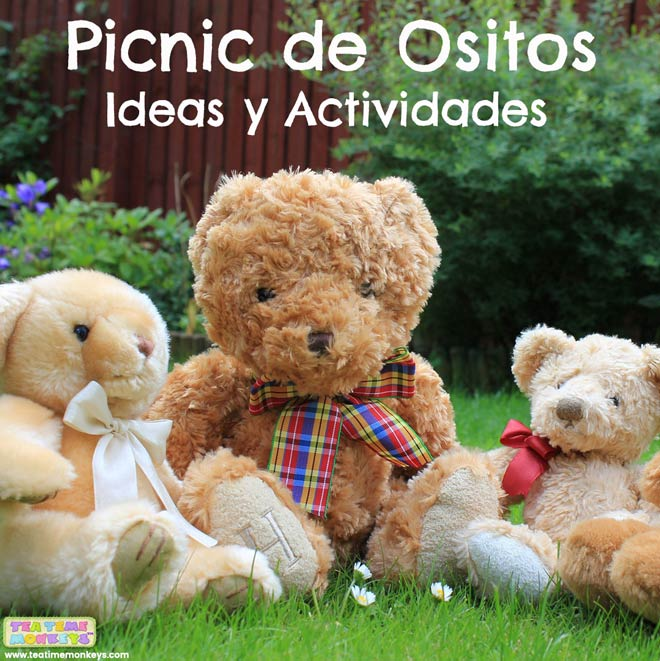 Picnic de Ositos Actividad - Tea Time Monkeys