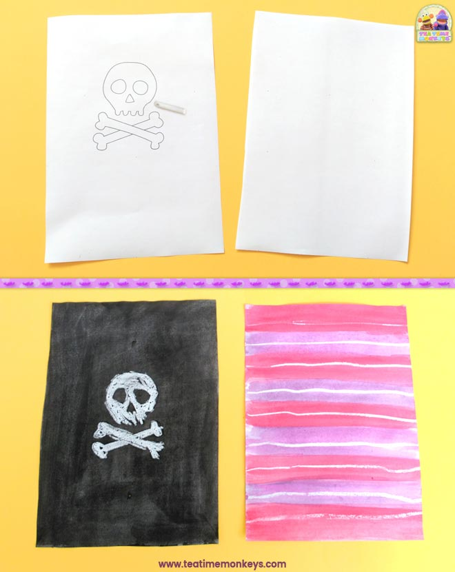 Pirate Ship Craft - Step 2- Tea Time Monkeys