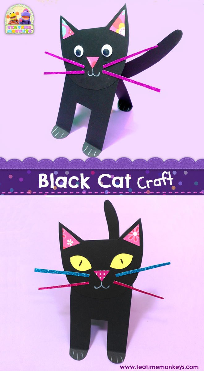 Black Cat Craft - Tea Time Monkeys
