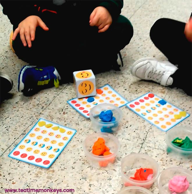 Feelings Bingo - Editable Dice/Spinner Game - Tea Time Monkeys