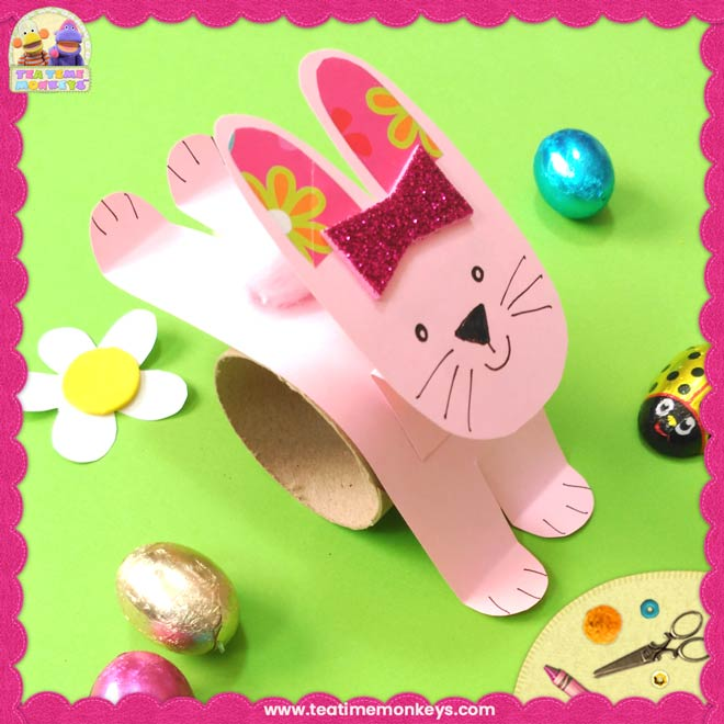 Hopping Bunny Rabbit Craft