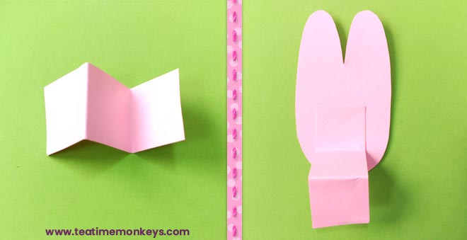Hopping Bunny Rabbit Craft - Step 6 - Tea Time Monkeys