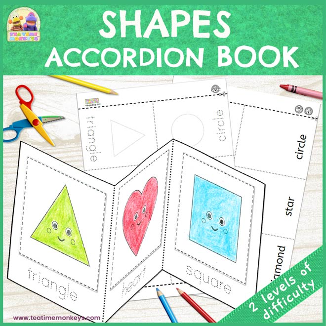 Shapes Accordion Book