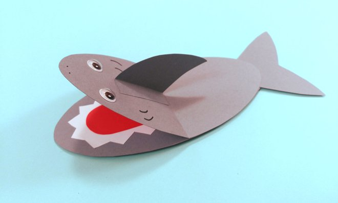 Snapping Shark Craft - Tea Time Monkeys