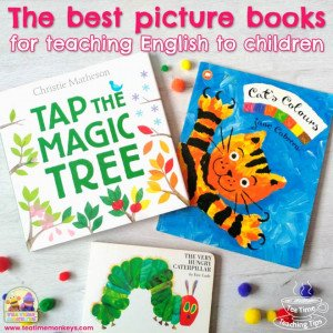 THe best picture books for teaching english to children