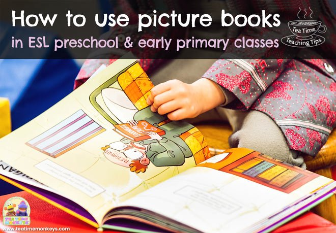 How to use picture books in ESL preschool classes