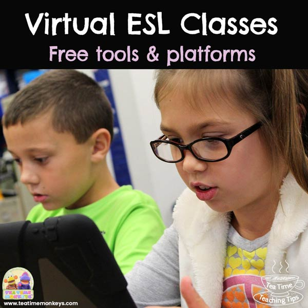 Best free tools and platforms to set up virtual classes and teach English online to kids - Tea Time Monkeys