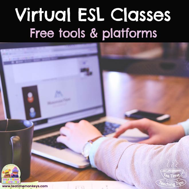 Some of the best free tools and platforms to set up virtual classes and teach English online to kids