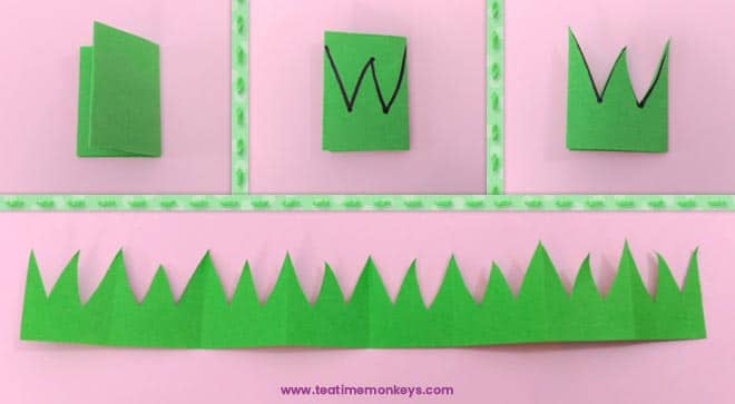 Bunny Basket - Easter craft for kids - Step 4 -Tea Time Monkeys