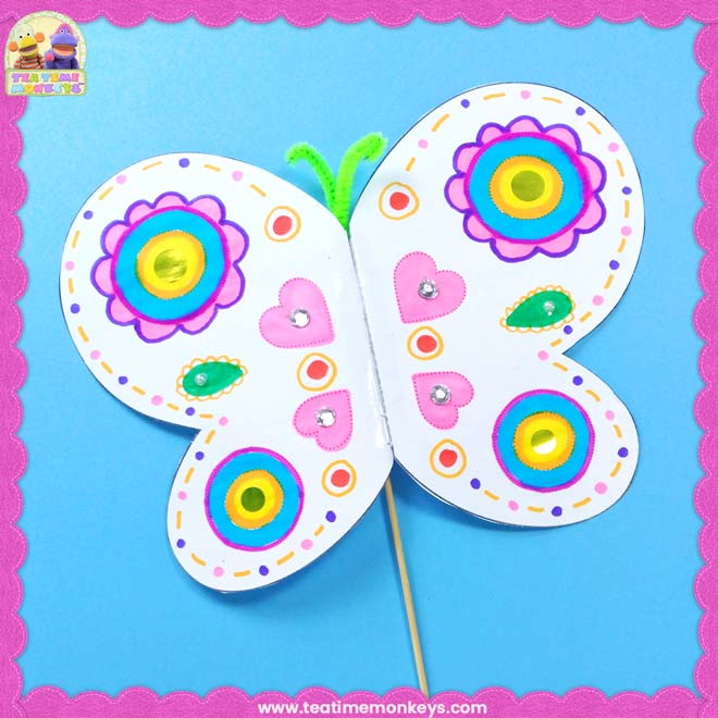 Big Flapping Butterfly Craft